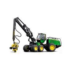 Transportation harvesters and other forest machinery